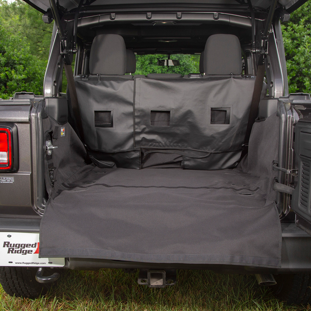 rugged ridge c3 cargo cover kofferraumschutz jeep wrangler. Black Bedroom Furniture Sets. Home Design Ideas